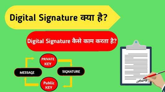 Digital Signature क्या है?   Digital Signature कैसे काम करता है?