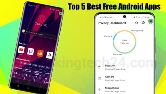 Top 5 Free Android Apps